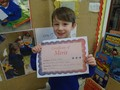 Foundation 2<p>Michael - for doing great work during phonic sessions</p>