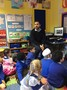 Gabriel's Daddy came to Nursery to tell us about Romania.
