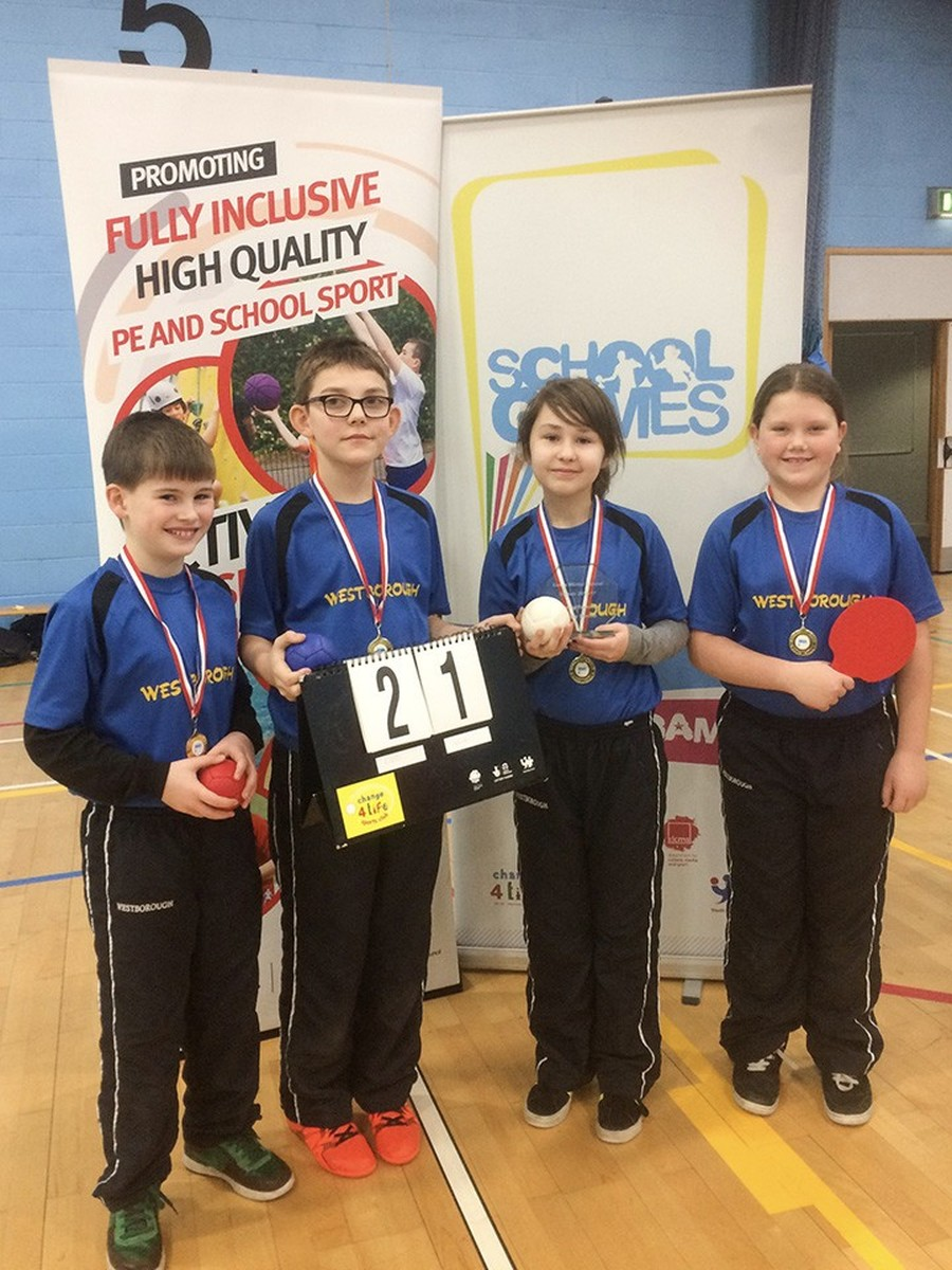 Winning Boccia Team Essex Winter School Games 2016-17