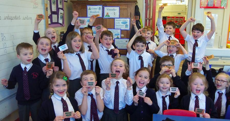 Our bronze award winners!