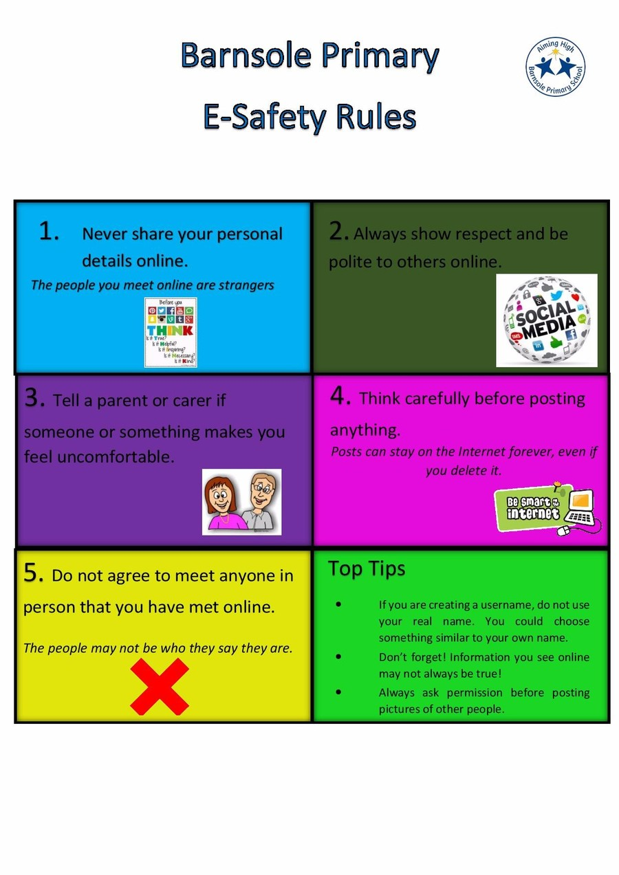 Barnsole Primary School - Keeping Safe Online
