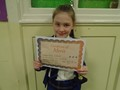Year 4<p>Halle - for working hard to follow advice to make her work her best</p>