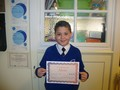 Year 6<p>Marcus - for a focused and positive attitude towards learning and showing his very best</p>