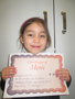 Year 1<p>Ciara - for fantastic progress in her reading</p>