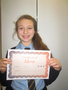 Year 6<p>Fleur - for improved attendance and attitude</p>