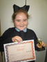 Year 5<p>Olivia - for a fantastic effort to her work</p>