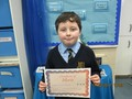 Year 5<p>Anthony - for his increased work ethic and attitude to learning</p>