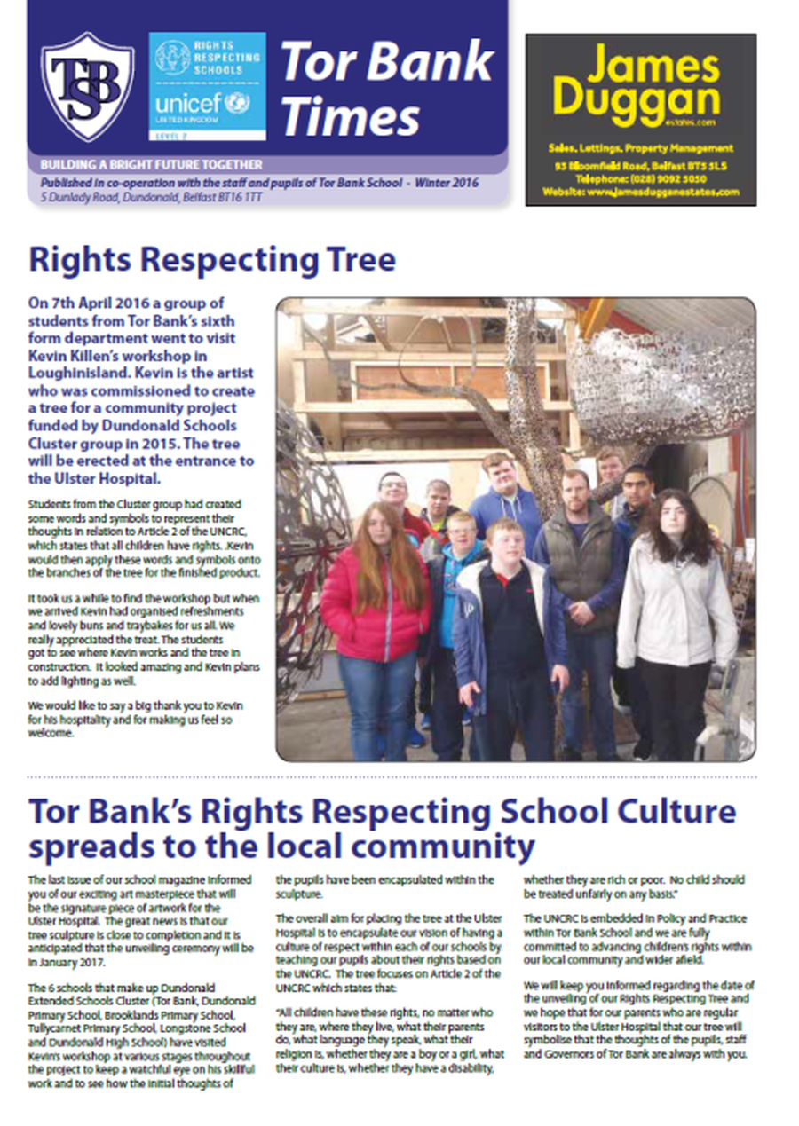 Download your copy of our yearly newspaper here