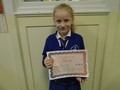 Year 3<p>Oliwia - for superb work especially when writing instructions</p>