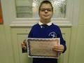 Year 4<p>Aleksander - for taking and acting upon advice from his teachers and peers</p>