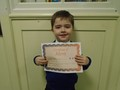 Year 1<p>James - for trying really hard to be a super helper in class</p>