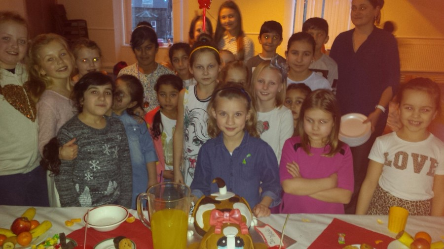 Disco party organised for children