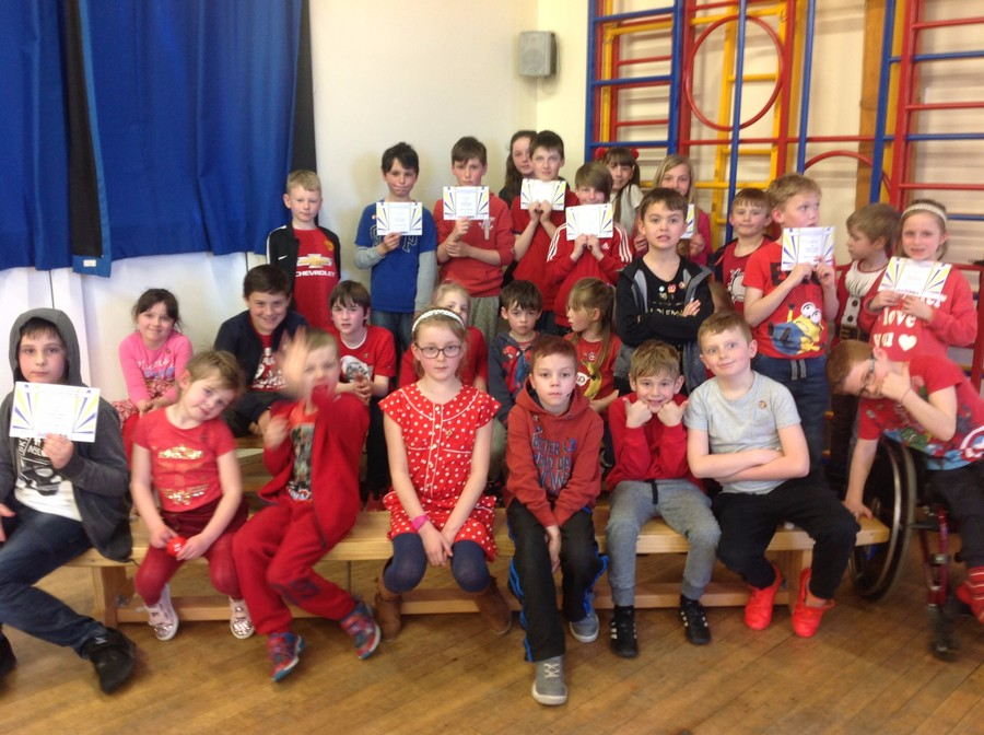 Gold Medals on Red Nose Day