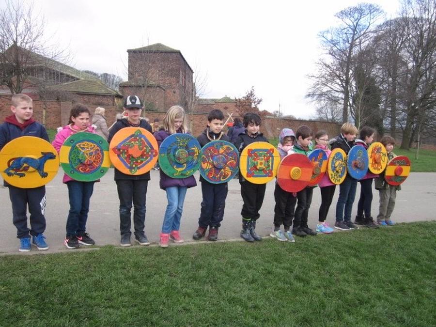 Y4 Anglo Saxon Adventure at Dunstan's Hall