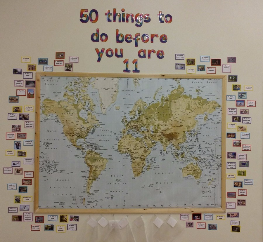 Our School Hall Display