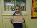 Year 5<p>Amy - for her dedication to school life representing our school in cross country, choir and gymnastics</p>