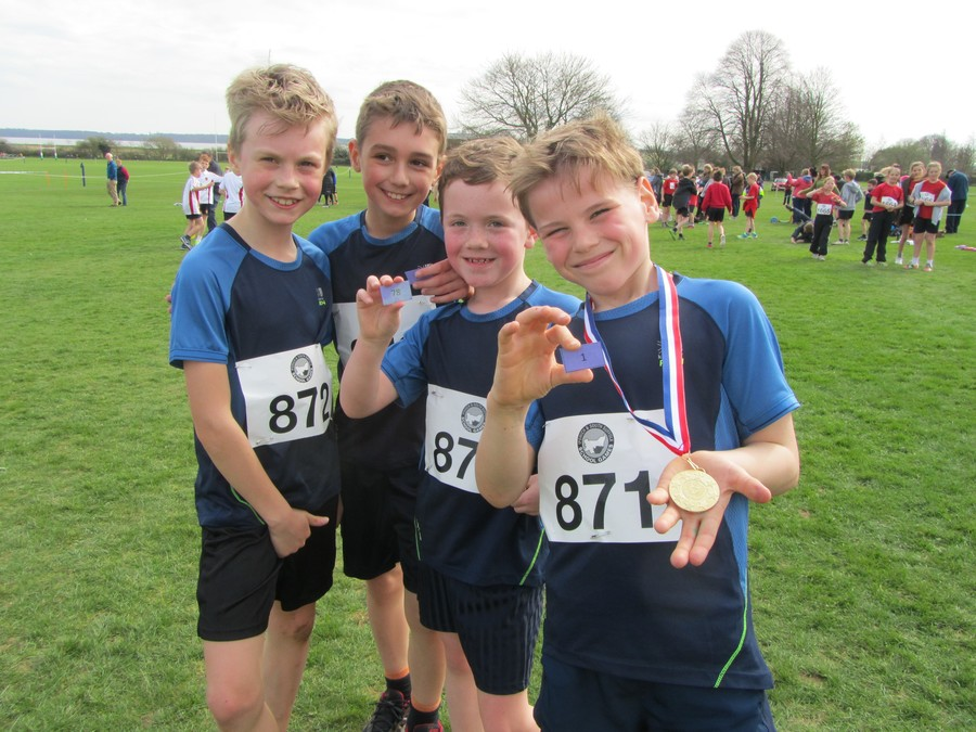 Year 4 Boys: Oskar, Morgan, Bradley, Luke