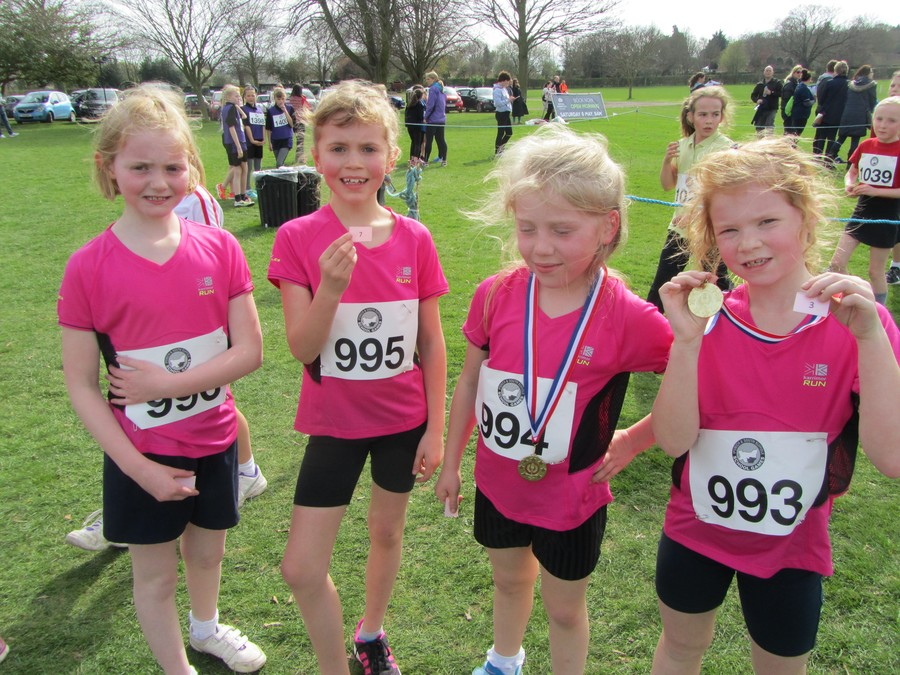 Year 4 Girls: Charlotte, Molly, Lexi, Lottie
