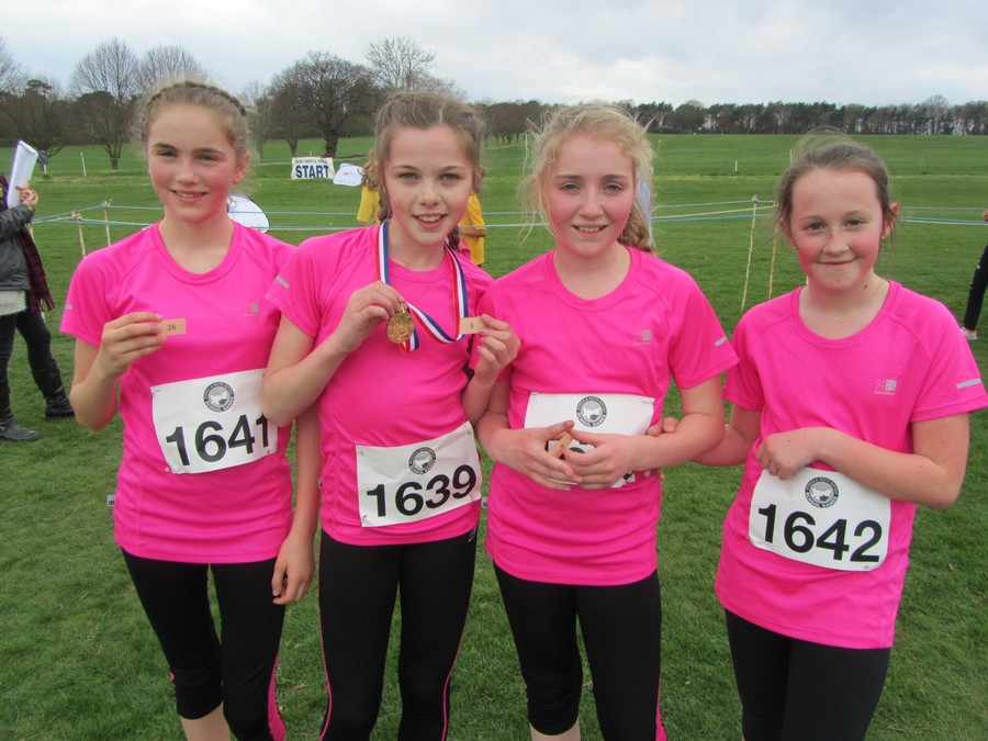 Year 6 Girls: Iona, Melissa, Lucy, Alice