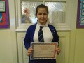 Year 6<p>Denisa - for offering to help to make a difference to our class environment</p>