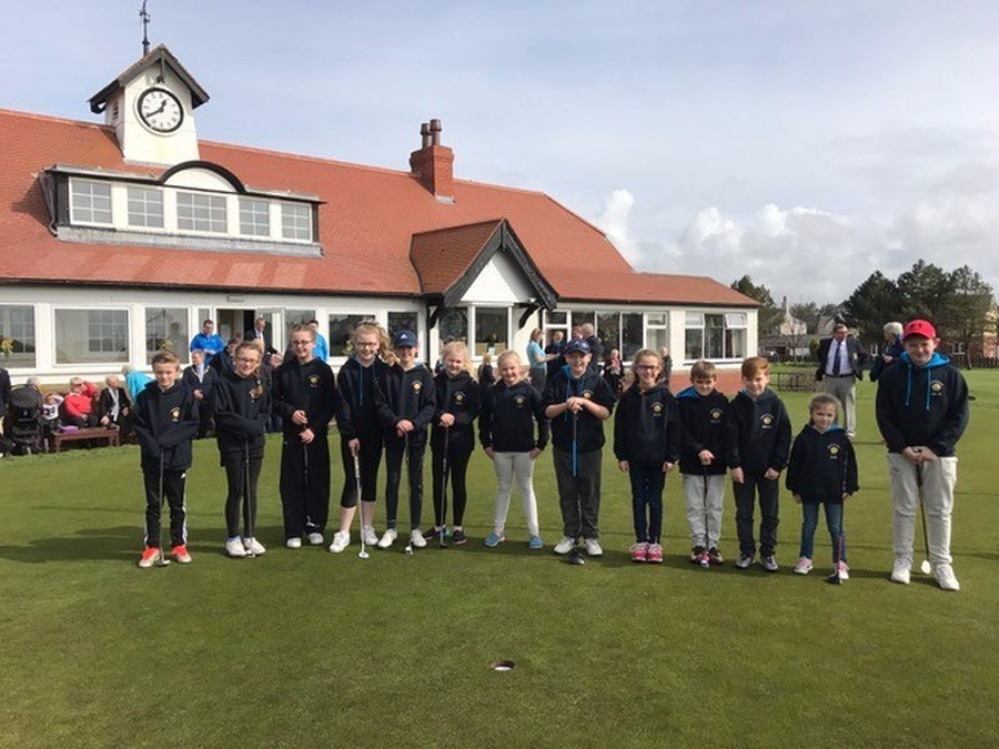 Silloth Golf Club Junior Players 2017