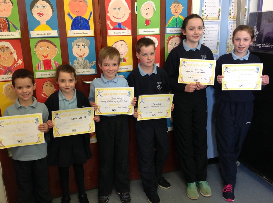 Ryan, Cara, James, Cormac, Aisling and Leanne