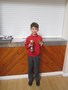 Samson received a football and rugby award, he's a busy chap!<br>