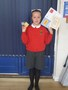 Isla shared her ballet and swimming awards with us.