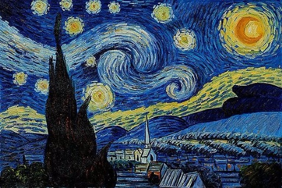 Year One - The Starry Night by Van Gogh