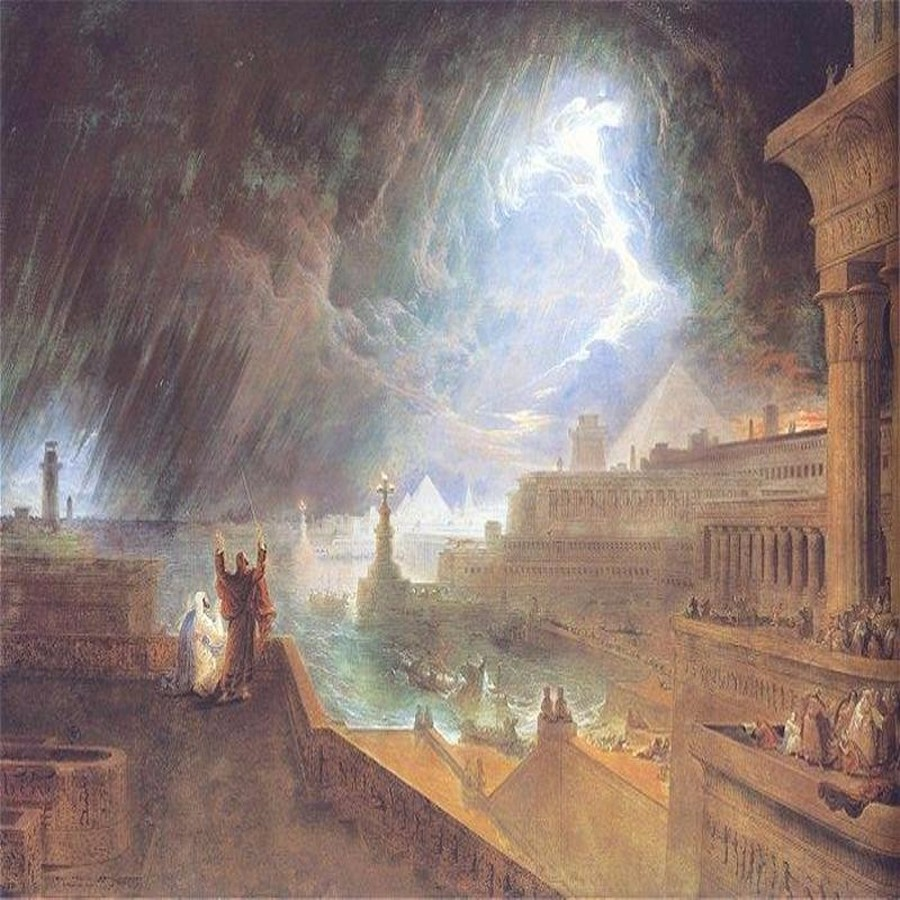 Year Four - 7 Plagues of Egypt by John Martin