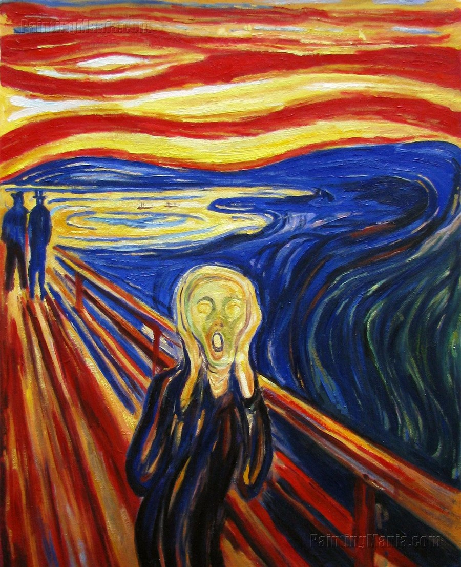 Year Five - Scream by Edvard Munch