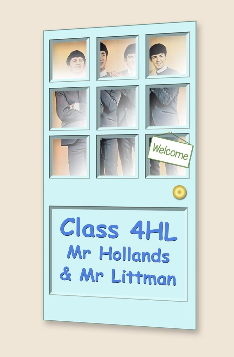 Go to Class 4HL