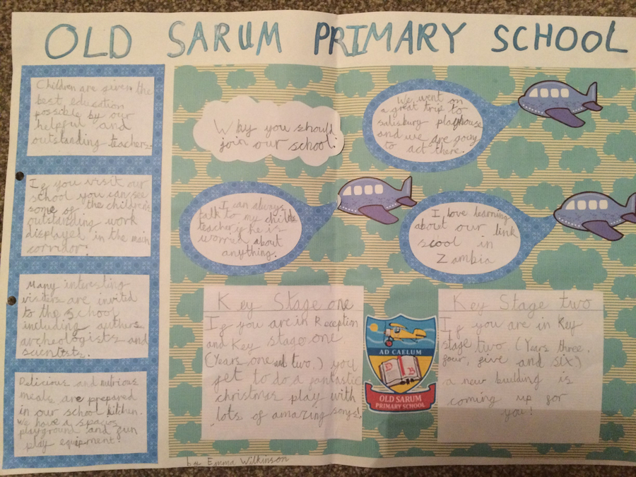 Why you should choose Old Sarum Primary