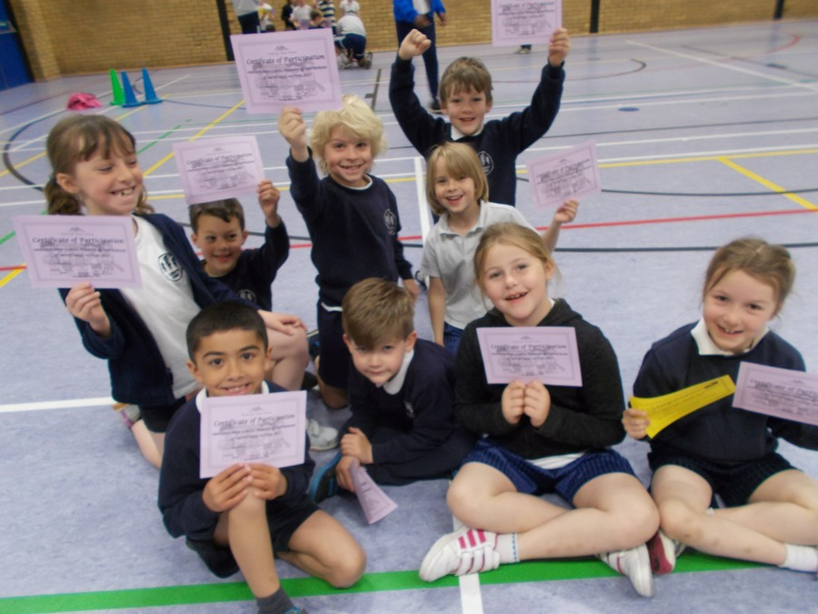 Our Year 2's took part in a multi-skills competition at Hadleigh High School. The children were split into teams with other local schools  and everyone had a great time joining in all the activities.