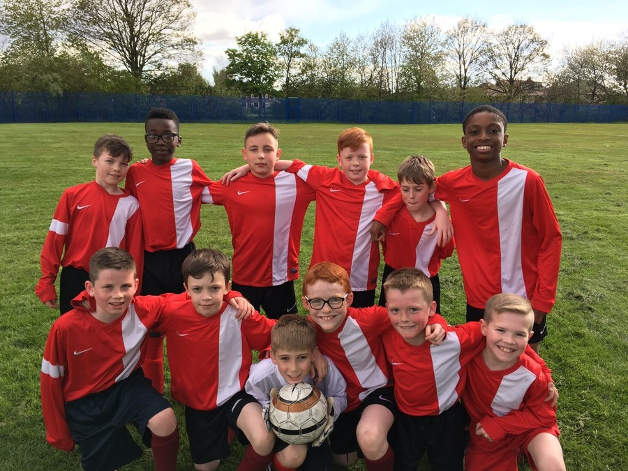 Great run of results for the football team. A fantastic performance and result against Alkrington.