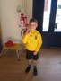 Well done to Alfie on receiving his Rugby trophy for being the Under 7 rugby star!