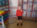Owen has been out on the rugby pitch and here's his trophy he received so well done to him!