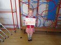 Alexis has been busy in the swimming pool and here's her certificate to prove it!