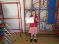 Maisie won with her poem gaining the most points in the 8-under 10 section. Brilliant!