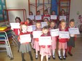 We entered the Whitehaven Music Festival Verse Speaking Competition this week. All the children did extremely well and here they are with their certificates!