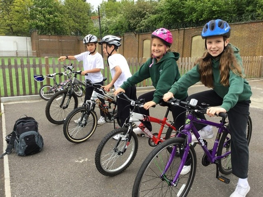 Year 5 Cycle Training May 2017