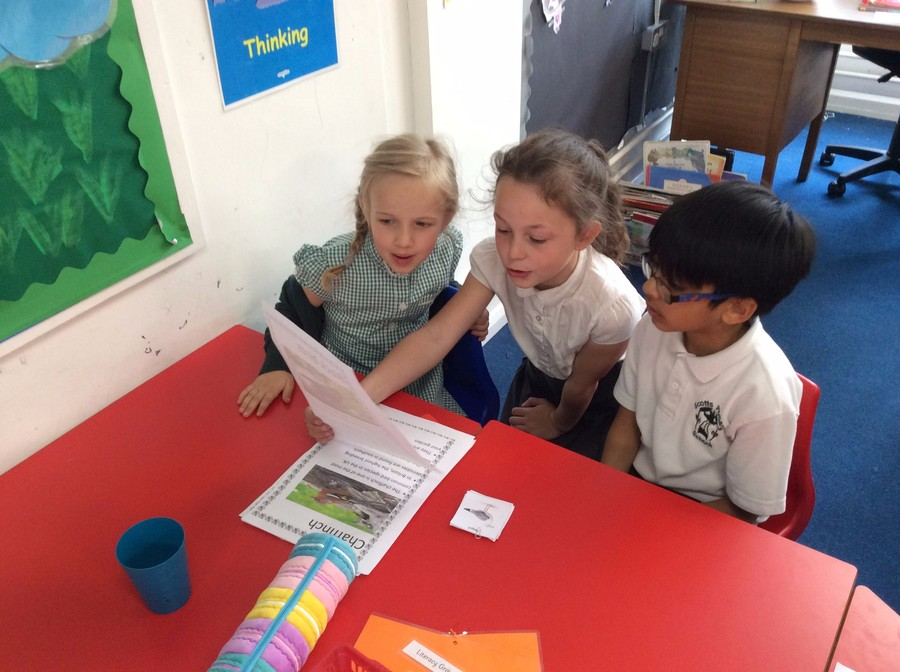 Eloise used her incredible homework to lead a session!