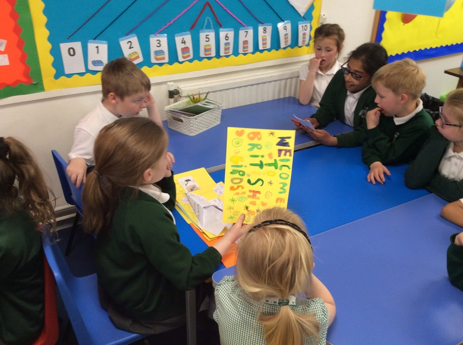 Carys and Ria created games to help to support the younger children in remembering the names of the new animals they were learning about!