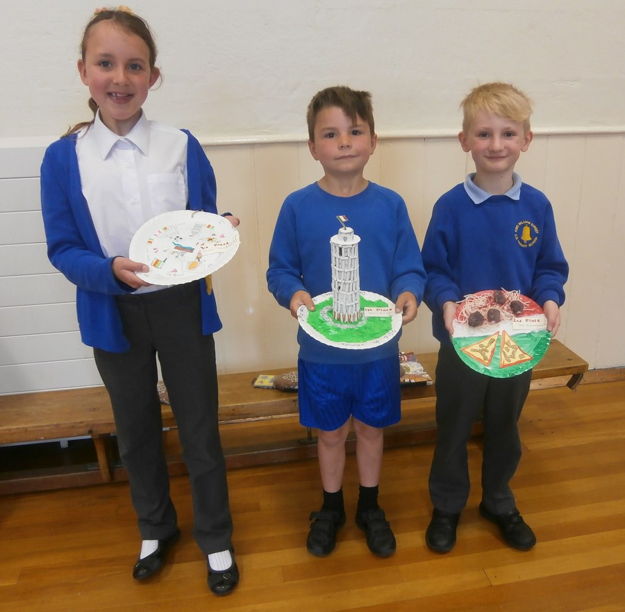 Winners of Italy Day competition