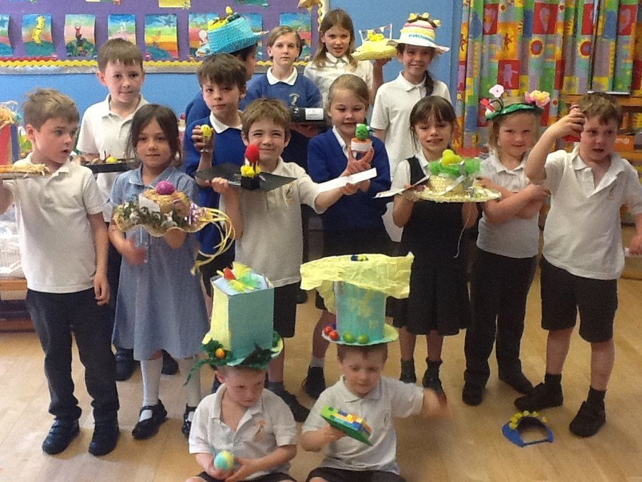 Easter competition winners