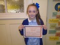 Year 4<p>Mia - for being a supportive friend and always fulfilling our school motto</p>