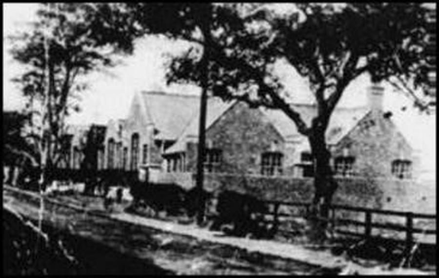 School as it was in 1908