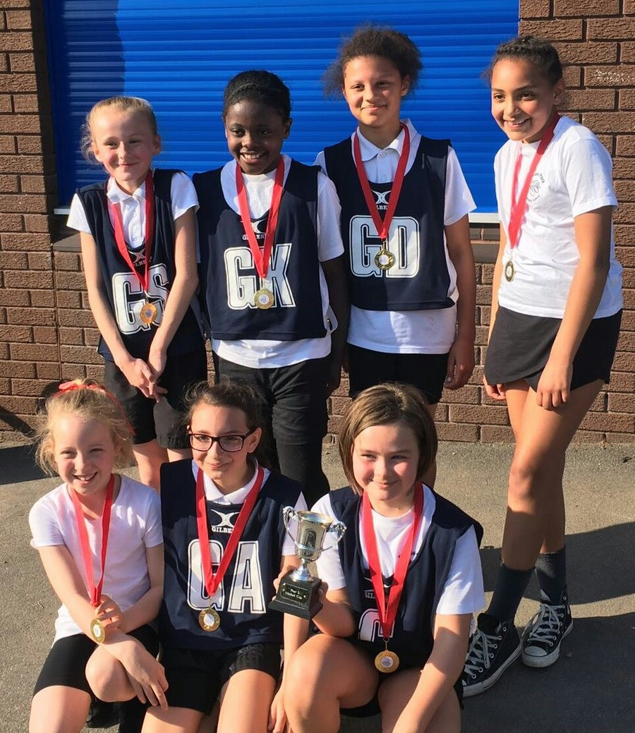 Well done to our year 5 netball team who won the year 5 Middleton netball tournament. The girls managed to win all but one game to claim the prize.