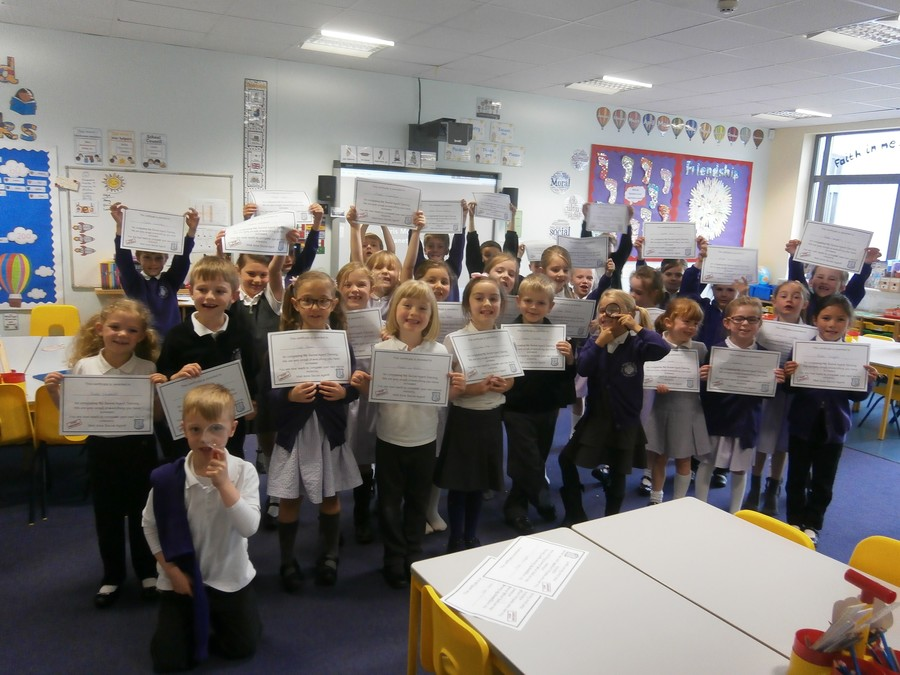 Year 2 have completed their Secret Agent Training. Well done, we are so proud of you all!