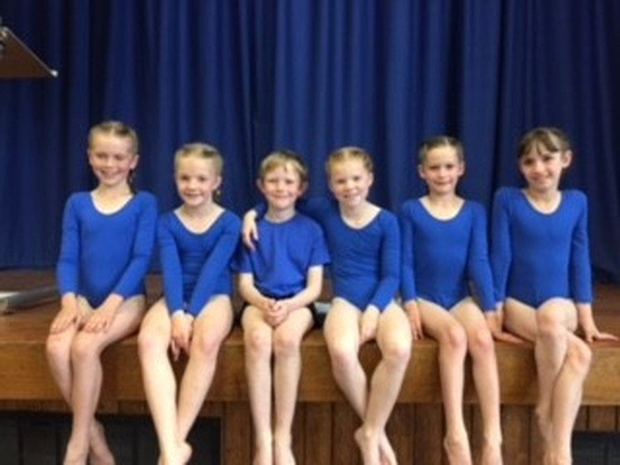 U9 Gym Team - 4th place in the Ipswich & South Suffolk Gymnastics Competition!